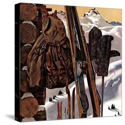 """Ski Equipment Still Life,"" February 3, 1945"