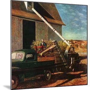 """Storing the Corn,"" November 6, 1948 by John Atherton"