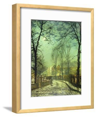 A Moonlit Road, 19th Century