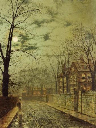 A Moonlit Road