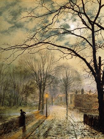 A Moonlit Stroll, Bonchurch, Isle of Wight, 1878