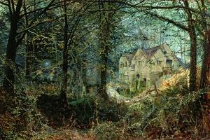Autumn Glory: the Old Mill, 1869 by John Atkinson Grimshaw