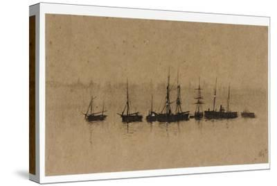Boats at Anchor in an Estuary, 1892