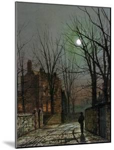 By the Light of the Moon, 1882 by John Atkinson Grimshaw