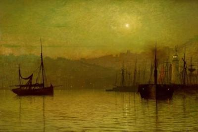Calm Waters, Scarborough, 1880