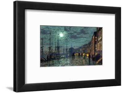 City Docks by Moonlight