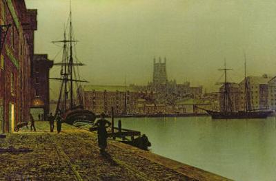 Gloucester Docks, c.1880