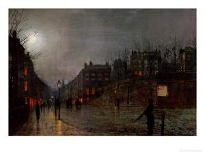 Going Home at Dusk, 1882 by John Atkinson Grimshaw