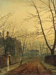 Hampstead - Autumn Gold, 1880 by John Atkinson Grimshaw