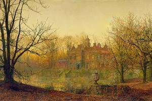 In Sere and Yellow Leaf, 1879 by John Atkinson Grimshaw