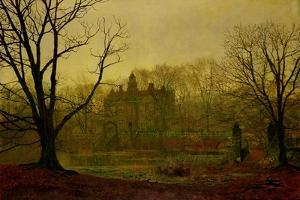In the Gloaming, 1878 by John Atkinson Grimshaw