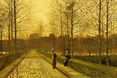 In the Golden Gloaming, 1883