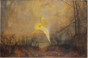 Midsummer Night, or 'Iris', 1876 by John Atkinson Grimshaw