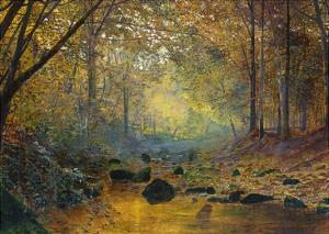 On the River Greta, Lake District, England by John Atkinson Grimshaw