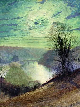 On the Tees, Near Barnard Castle, C.1868