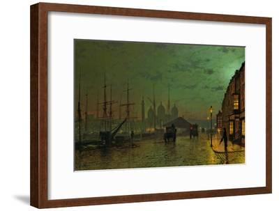 Prince's Dock, Hull, 1882