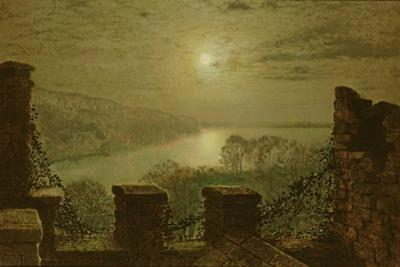 Roundhay Park from the Castle, 1879