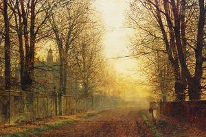 The Autumn's Golden Glory by John Atkinson Grimshaw