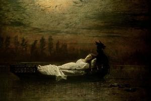 The Lady of Shalott, 1878 by John Atkinson Grimshaw