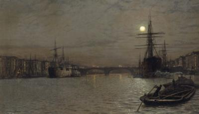 The Pool and London Bridge at Night, 1884