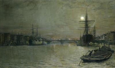 The Pool and London Bridge at Night