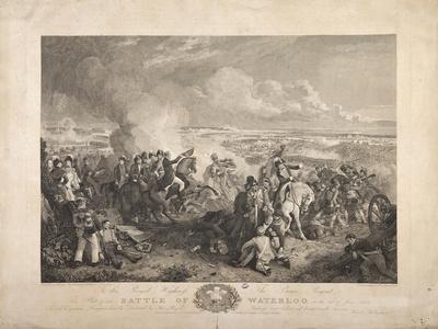 The Battle of Waterloo, Engraved by John Burnet, 1819