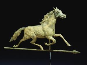 Galloping Horse Weathervane, Circa 1890 by John Bachman