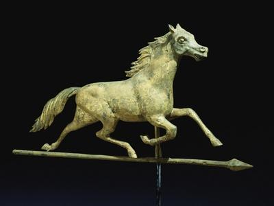 Galloping Horse Weathervane, Circa 1890