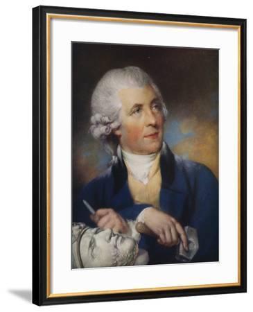 John Bacon (1740-179) British Sculptor, 1925-John Russell-Framed Giclee Print