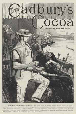 Advertisement, Cadbury's Cocoa