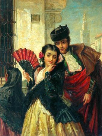 Scene In Spain, Near Seville, c.1853