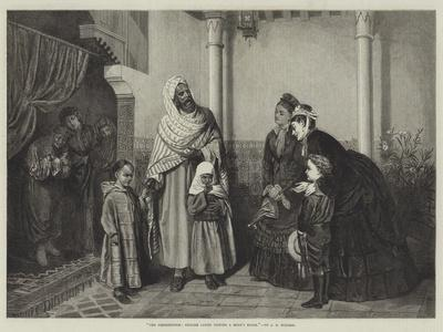 The Presentation, English Ladies Visiting a Moor's House