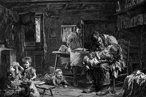 The Widower, 1882 by John Bagnold Burgess