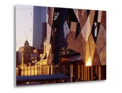 Exterior Detail of Federation Square, Melbourne, Australia