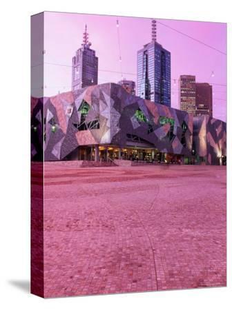 Federation Square at Dusk, Melbourne, Australia