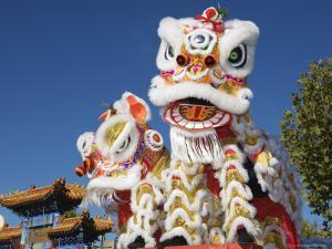 Head of Chinese Dragon Puppet by John Banagan