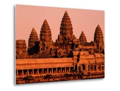 Sunrise over the Ancient Site of Angkor Wat
