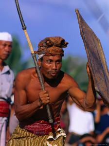 Traditional Sport of Stick-Fighting in Kuripan, Indonesia by John Banagan
