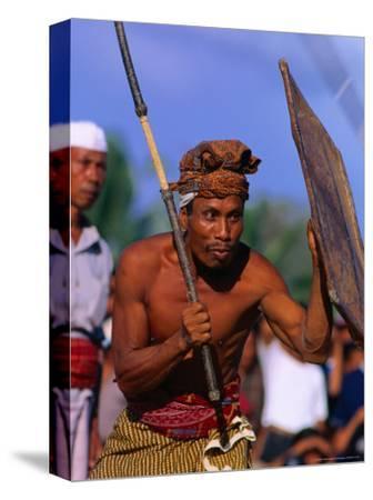 Traditional Sport of Stick-Fighting in Kuripan, Indonesia