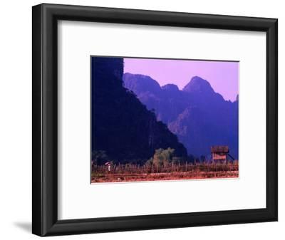 West Bank of Nam Song River, Vang Vieng, Laos