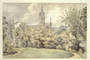 Christ Church Cathedral from the Dean's Garden, 10 June 1775 by John Baptist Malchair