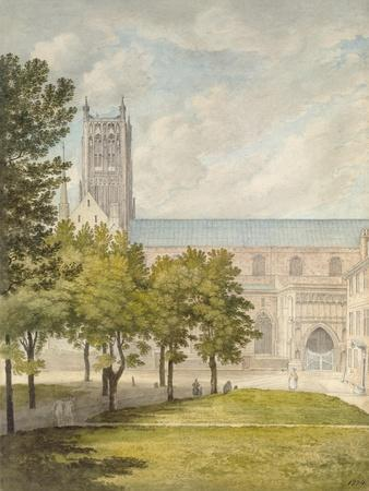 Worcester Cathedral, Probably 1774