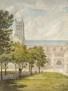 Worcester Cathedral, Probably 1774 by John Baptist Malchair