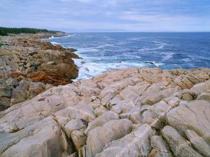 Nova Scotia, Cape Breton Highlands National Park, Igneous Intrusions by John Barger