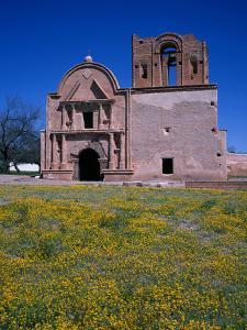 USA, Arizona, Tumacacori National Historical Park, Remains of Mission Church San Jose De Tumacacori by John Barger