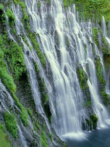 USA, California, Cascade Range, Mcarthur-Burney Falls Memorial State Park by John Barger