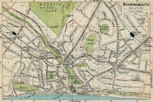 'Bournemouth', c20th Century by John Bartholomew