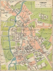 'Cambridge', c20th Century by John Bartholomew