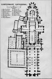 'Canterbury Cathedral', c20th Century by John Bartholomew