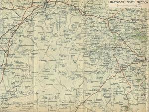 'Dartmoor - North Section', c20th Century by John Bartholomew